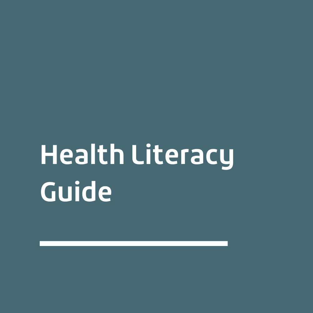Health Literacy Guide Related Link