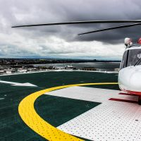 University Hospital Geelong helipad