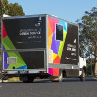 Barwon Health dental van